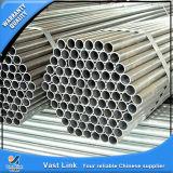 Tubo de acero galvanizado sumergido caliente de ASTM A53