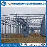 중국 공급은 최신 복각 직류 전기를 통한 강철 구조물 헛간을 주문을 받아서 만들었다