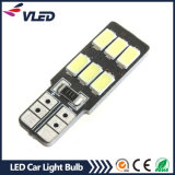 Lâmpada quente do carro do bulbo 6SMD do diodo emissor de luz T10 Canbus 5630 do Sell auto