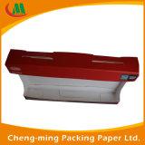 Kundenspezifischer flippiger Spanplatte-faltbarer Lippenglanz-kosmetischer Papierkasten