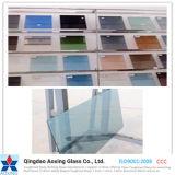 建物またはWindowsのための明確なか緑または灰色の染められた反射ガラス