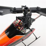 3D Single Blade Mini 2.4G 6CH RC Helicopter Model con Servos y Mems Gyro
