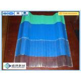 Feuille ondulée en plastique de l'isolation thermique de la Chine FRP pour la feuille de toiture/toiture de fibre de verre