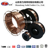 セリウムTUVは承認した! 銅の上塗を施してある穏やかな鋼鉄溶接ワイヤEr70s-6/Sg2