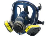 ケイ酸ゲルの完全な覆面部広いフィールドガスマスクのマスク
