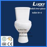 5#-2 het afzonderlijke/Tweedelige Ceramische Toilet van de Badkamers Washdwon in Sanitaire Waren