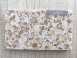 二重カラー人工的な大理石ミラーの表面の水晶石の大きい平板