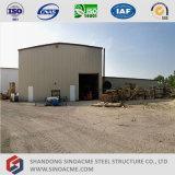 작업장을%s 가벼운 강철 구조물 조립식 건물