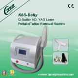 K6s portátil 632nm 1320nm 1064 ND YAG láser Retire tatuaje