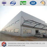 Prefabricated Light Steel Structure Warehouse with Administration Office