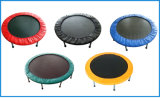 Trampoline 40 дюймов голубой круглый миниый для домашней крытой пользы