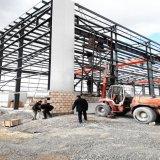 Construction structurale en acier préfabriquée pour l'atelier/entrepôt