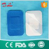 Голубая эластичная повязка раны помощи полосы ткани в пищевой промышленности (BL-007)