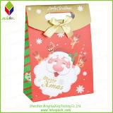 Подгонянная коробка подарка упаковки рождества покрашенная