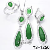 Ювелирные изделия Jewellery стерлингового серебра 925 установленные имитационные (YS-1250/50G/51/51A, 1394)