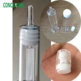 White Cap, Cap를 가진 Plastic Syringe를 가진 Prefill Syringe