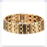 Braccialetto dell'acciaio inossidabile del braccialetto del silicone dei monili di modo (HR330)