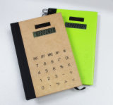 Nuovo Design Hot Sale Spiral Notebook variopinto con Calculator