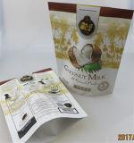 鮮やかなグラビア印刷の印刷およびジッパーが付いているティーバッグのコーヒーバッグの塩袋の砂糖袋