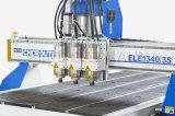 Máquina de madera 1325 del ranurador del CNC de los ejes de rotación de alta velocidad del sistema neumático 3 para los muebles de madera