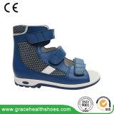 Ткань сетки 3 цветов Breathable ягнится сандалии здоровья малышей сандалии Orthoprdic детей ботинок