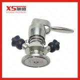 Válvula pneumática asséptica da amostra do aço inoxidável
