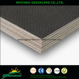 Super Strong Plywood for Anti - Slip Truck Floor Usage with Hardwood Core, Phenolic Glue