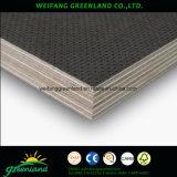 Contrachapado fuerte estupendo para el uso antideslizante del piso del carro con la base de la madera dura, pegamento fenólico