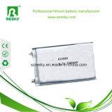 batteria del polimero del litio 3.7V 606066 2600mAh per il GPS