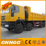 Venda quente famosa do caminhão de descarga do tipo 3axle 6X4 de China