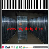 gabbia del rullo della rete metallica del magazzino di capienza di caricamento 500kg