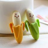 Approvisionnements d'école neufs de banane de type de crayon de gomme à effacer de papeterie mignonne d'élèves