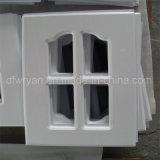 Puerta de cabina laminada del PVC de la base del MDF