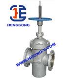 DIN/API Klep de Uit gegoten staal van de Poort Wcb van de Flens van de Olie van de Schijf van de hoge druk