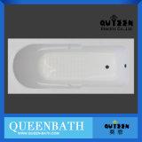 新しく白いアクリルの浴槽の安く簡単な浴槽の常態の浴槽