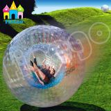 Finego aufblasbare Shinning Gras-Kugel-Wasser-Stoßkugel-Karosserie Zorb Kugel