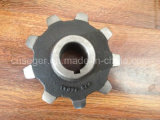 탄소 Steel Casting Sprocket Wheel와 Chain Sprocket