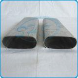 Edelstahl-große flache mit Seiten versehene ovale Stahlgefäße
