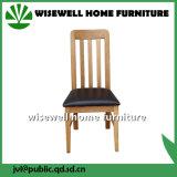 Mobília da tabela de jantar da madeira contínua ajustada (W-DF-9039)