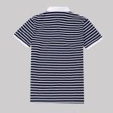 Schließen BaumwollMens 100% Hülse Chaep Streifen-Polo-Hemden für Verkauf kurz