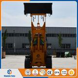 中国の小型ローダー小型ローダーCe/ISOを耕作する1.5トンの前部車輪のローダー