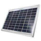 Mono панель солнечных батарей 20W для домашней солнечной осветительной установки