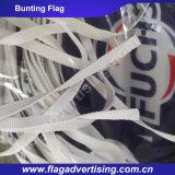100% bandierina di pubblicità su ordinazione della stringa del poliestere, bandierina della corda, bandierina Bunting