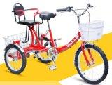 """최신 판매 16 """" 페달은 지원했다 아기 시트 (YK-TC-002)를 가진 화물 세발자전거를"""