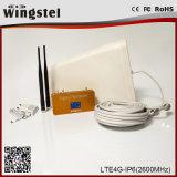 Nuevo repetidor de la señal del teléfono celular del diseño Lte-4G 2600MHz con la antena
