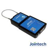 O cacifo eletrônico do GPS com cartões de RFID destrava e destrava/alarme do fechamento