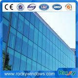Parete divisoria di vetro esterna dell'alluminio per costruzione