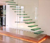 Проступи лестницы прокатанного стекла (GST-068)