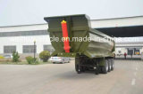 중국에서 반 35t U 모양 후방 덤프 트럭 팁 주는 사람 트레일러 제조자