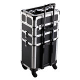 Rollen Aluminum Makeup Fall mit Four Wheeled Spinner Ramc-3605